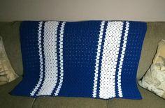 "Lap Blanket - 28"" x 41"" - Unique Stitch - Yolanda Soto Lopez"