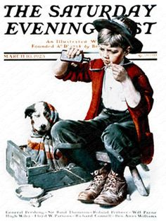 Saturday Evening Post Magazine Covers november 1923 | Rockwell—1920s | The Saturday Evening Post