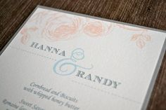 Country chic rustic wedding menu. www.paperscissorsprint.com