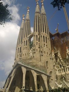 Sagrada familia Barcelona.