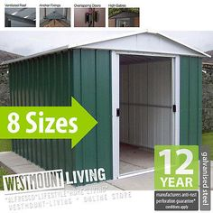 arrow 7 ft w x 2 ft d steel learn tool shed products pinterest arrow steel and products
