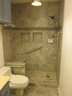 Accessible Barrier Free Aginginplace Universal Design Bathroom - Disabled bathroom fixtures