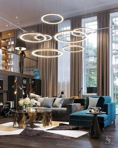 Be amazed discovering the best luxury lighting fixtures selection that will give you  the best home decor ideas for your next living room interior design project at luxxu.net !  #livingroom #luxury #luxuryfurniture #interiordesign #interiordesignideas #lighting #lightingdesign #homedecor #decor