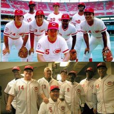 The Big Red Machine.then & now,, One of the Greatest Teams in the History of Baseball ! Best Baseball Player, Better Baseball, Baseball Posters, Baseball Cards, Mlb, Reds Game, Cincinnati Reds Baseball, Go Red, Home Team