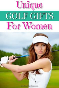 Unique Golf Gifts for Women - Gifts for Lady Golfers - Great Gadget Golf Gift Ideas For Women #giftguide