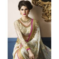 Buy Online Designer Sarees, shari, Ethnic sarees, Off White Color, Saree, sari, partywear, kitty party wear for women. We have large range of Designer Net, Georgette Sarees in our website with the best pricing and unique designs shipping to (UK, USA, India, Germany, UAE, Canada, Singapore, Australia, Mauritius, New Zealand) world wide.