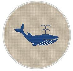Whale Cross Stitch Pattern Instant Download от MagicCrossStitch