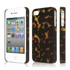 Amazon.com: EMPIRE Signature Series Slim-Fit Case for Apple iPhone 4 / 4S - Tortoise Shell: Cell Phones & Accessories