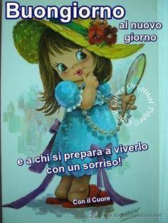 BUONGIORNO Italian Memes, Emoticon, Decir No, Good Morning, App, Fictional Characters, Cleaning Tips, Link, Garden