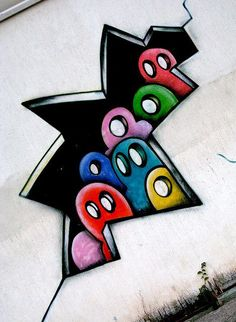 Graffiti can be more than street gang tagging… some just want to express themselves.