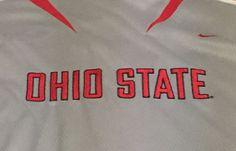 Ohio State Buckeyes Nike X-Large Short Sleeve Jersey Type Tee T-Shirt XL #Nike #OhioStateBuckeyes