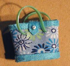 Vintage-style bag tutorial: Bolso de kukly.MK. Comentarios: LiveInternet - Russian Servicio Diarios Online