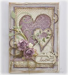 Such a Pretty Mess: Maja Design's February Mood Board Challenge! Check these out Susan love them! Pretty Cards, Love Cards, Tarjetas Diy, Karten Diy, Shabby Chic Cards, Heart Cards, Valentine Day Cards, Card Tags, Anniversary Cards