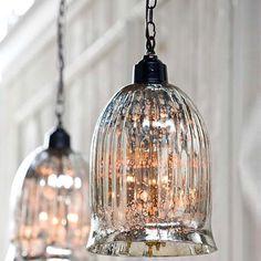 Regina Andrew Lighting Hanging Antique Glass Pendant $398 So cool!