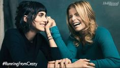 A beautiful photo of Mariel Hemingway & her daughter Langley in The Hollywood Reporter.      http://www.hollywoodreporter.com/gallery/sundance-2013-photos-festival-416261