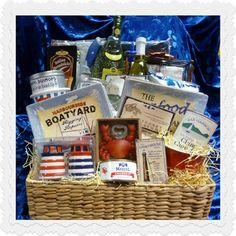 Weekend In The Hamptons Nautical Gift Basket ( Sold Out ) - www.athenadiamondgiftbaskets.com