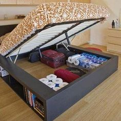 Now this is a cool idea! Especially for a very small and for studio apartments.