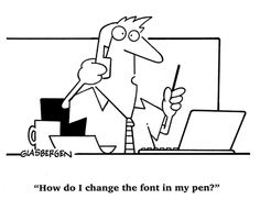 """""""How do I change the font in my pen?"""""""