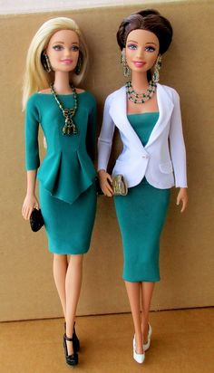 Barbie office outfits