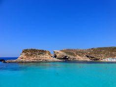 #blue #lagoon #sea #water   Le blue lagoon de Malte :)
