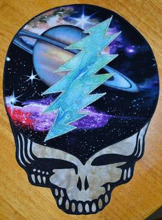 Steal Your Face super nova patch by GoodKarmaKreations on Etsy, $16.00