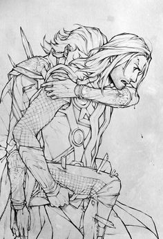 In the Frost Giants ever try to take revenge for Laufey's death,it could be qute...painful for Loki. Why?Why would you do this? << My.... Heart....