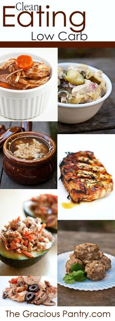 Clean Eating Low Carb Recipes #cleaneating #eatclean #lowcarb http://papasteves.com/blogs/news/11304001-fiber-protein-fat-satiety-feel-fuller-longer-slow-down-sugar-absorption