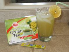 Copycat Starbucks Green Tea Lemonade at a fraction of the cost!