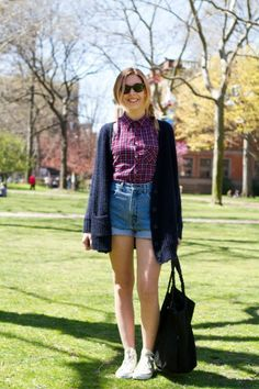 College Street Style: 17 A+ Looks From NYC Campuses via http://www.refinery29.com/campus-street-style/slideshow#slide-1