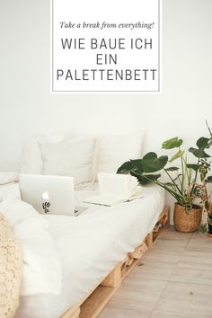 Hier findet ihr eine Möglichkeit günstig Europaletten zu kaufen um ein eigenes Bett nach euren Vorstellungen zusammenzustellen. Das zusammenbauen ist ganz einfach. Ihr müsst euch einfach ein Verbindungselement kaufen und die einzelnen Paletten damit verbinden, somit verrutschen sie nicht. Wenn ihr fertig seit könnt ihr noch einen LED-Streifen zwischen den Hohlräumen legen damit ist in der Nacht auch gemütlich aussieht. Viel Spaß! Take A Break, Home Decor, New Ideas, Room Interior Design, Night, Bedroom, Simple, Room Decor, Home Interior Design