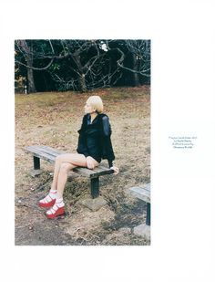 Magazine: AnOther Spring/Summer 2011 Photographer: Anders Edstrom Model: Ai Tominaga