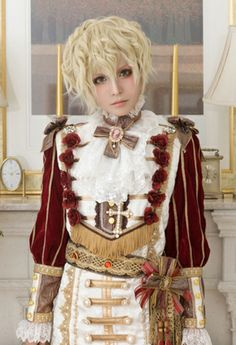 Vampiro ouji estilo real t moda lolita moda e Rococo Fashion, Royal Fashion, Lolita Fashion, Love Fashion, Cosplay Outfits, Cosplay Costumes, Estilo Real, Autumn Fashion Casual, Harajuku Fashion