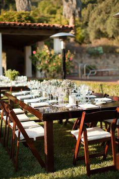 loving farm tables at weddings