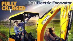 JCB Electric Excavator / Mini Digger JCB E-TEC zero emissions electric digger Bob The Builder, Digger, Science And Technology, Solar, Zero, Electric, Amazing Things, Farming, Mini