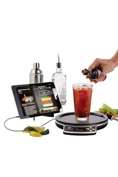 19 Valentine's Day Gifts for Him - Husband and Boyfriend Valentine Gifts Ideas - Smart Bartending Set - An app-controlled mixology kit so he gets that cocktail justttt right. Drink App- Controlled Smart Bartending, $50; Brookstone. Click through redbookmag.com for more unique gift ideas.