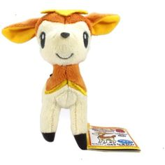 "Banpresto My Pokemon Collection Best Wishes Mini Plush - 47488 - 5"" Autumn Orange Deerling/Shikijika >>> You can find more details by visiting the image link. (This is an affiliate link) #PlushFigures"