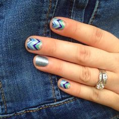 """Jamberry Nails.....This manicure is""""Diamond dust sparkle"""" with """"Everything Nice"""".....browse over 300 designs At: http://www.alishareiter.jamberrynails.net"""