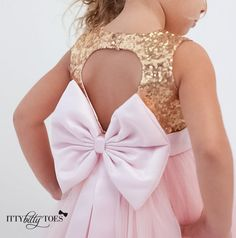 Need a birthday dress for your little princess? Or perhaps a flower girl dress? How about a pretty little dress for her to have for any special occasion coming?
