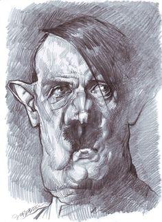 Jan Op De Beeck (1958) < Adolf Hitler (1889-1945), politico >