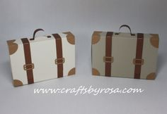 Suitcase favor box by CraftsbyRosa on Etsy, $2.50