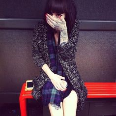 Hannah Snowdon - she is like my tattoo inspiration.. Her tattoos are amazingly beautiful!!