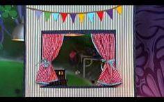 Thalita Carvalho ensina o passo-a-passo de uma linda cortina para as crianças…