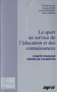 Le sport au service de l'éducation et des connaissances : actes de colloque, Lille novembre 2013 / coordonné par Claude Piard, Laurent Bosquet, Alain Junqua. https://buweb.univ-orleans.fr/ipac20/ipac.jsp?session=14V2212QG0136.523&menu=search&aspect=subtab66&npp=10&ipp=25&spp=20&profile=scd&ri=2&source=~%21la_source&index=.IN&term=9782867135101&x=0&y=0&aspect=subtab66