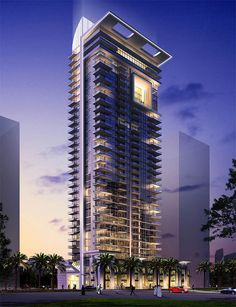 Residential Tower – Humphreys & Partners Architects, L. Architecture Portfolio, Concept Architecture, Futuristic Architecture, Facade Architecture, Residential Architecture, Facade Lighting, Building Concept, High Rise Building, Building Facade