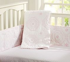 Baby Girl Nursery Bedding, Crib Bedding for Girls | Pottery Barn Kids / girl / pink / baby