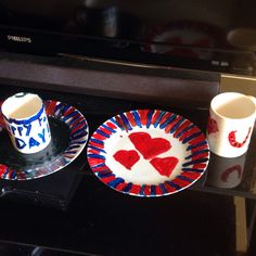 Ceramic plates. Kids Father's Day gifts