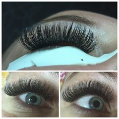 Beautifull Russian volume lashes made by Salon Your Time te Zevenaar