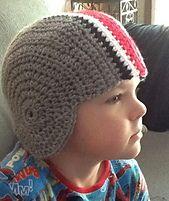 Ravelry: JaynaMac's OSU football helmet hat