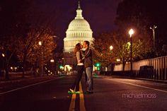 engagement shots in DC  http://michaelmoss.com/blog/wp-content/uploads/2009/11/Washington-D.C.-Wedding-Photographer_20.jpg