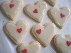 Sugar Cookies with Lemon Glaze